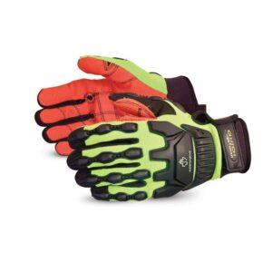 Superior Glove Clutch Gear® Anti-Impact Oilfield Glove with Armortex® Palms